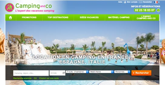 Camping and Co - accueil